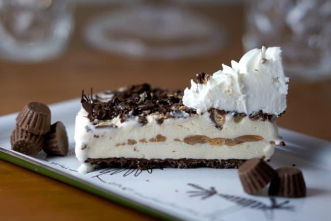 Reece's Ice Cream Pie