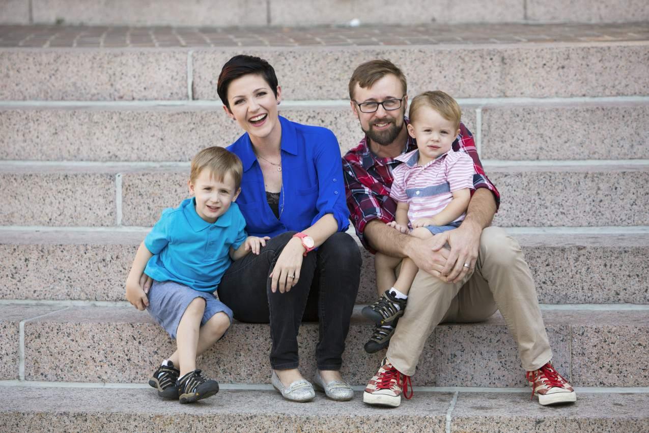 Joanie Simon Family