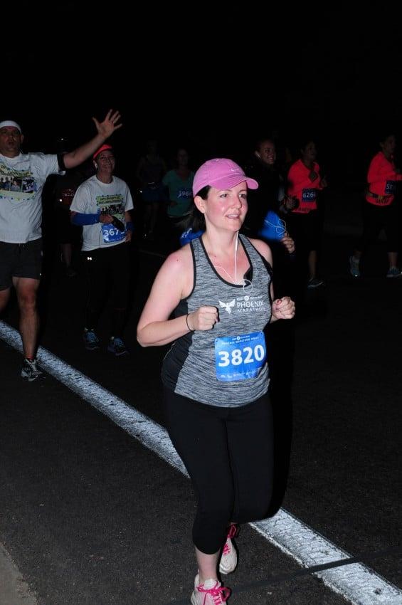 Joanie Simon Half Marathon