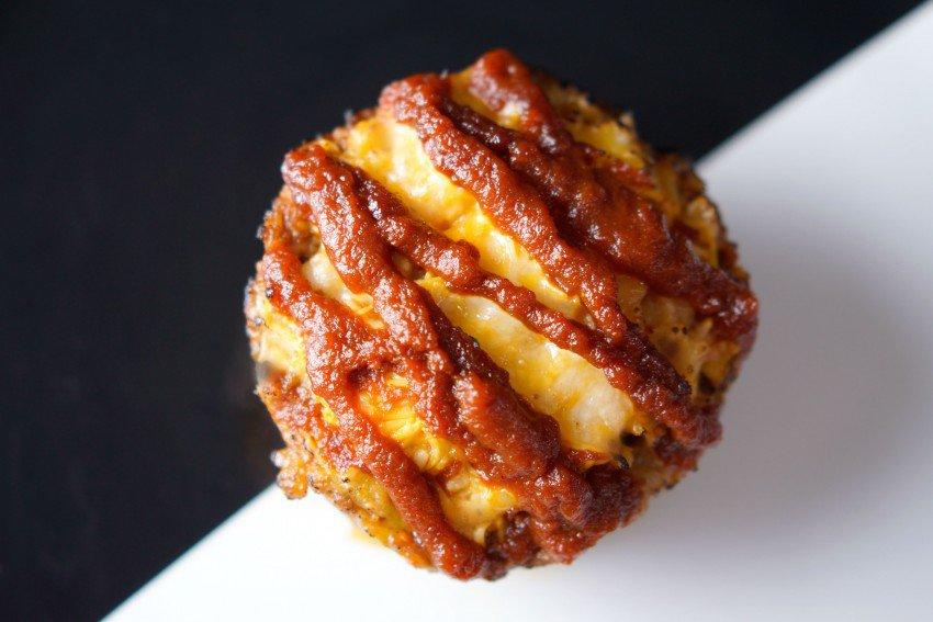 Meat Crust Muffins 4