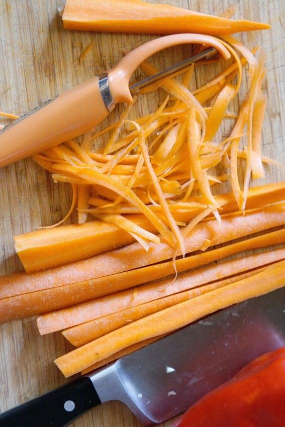 Soba Noodles With Almond Sauce Joanie Simon