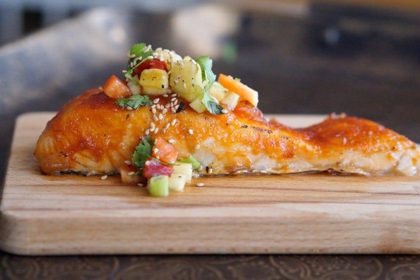 Sweet & Sour Salmon