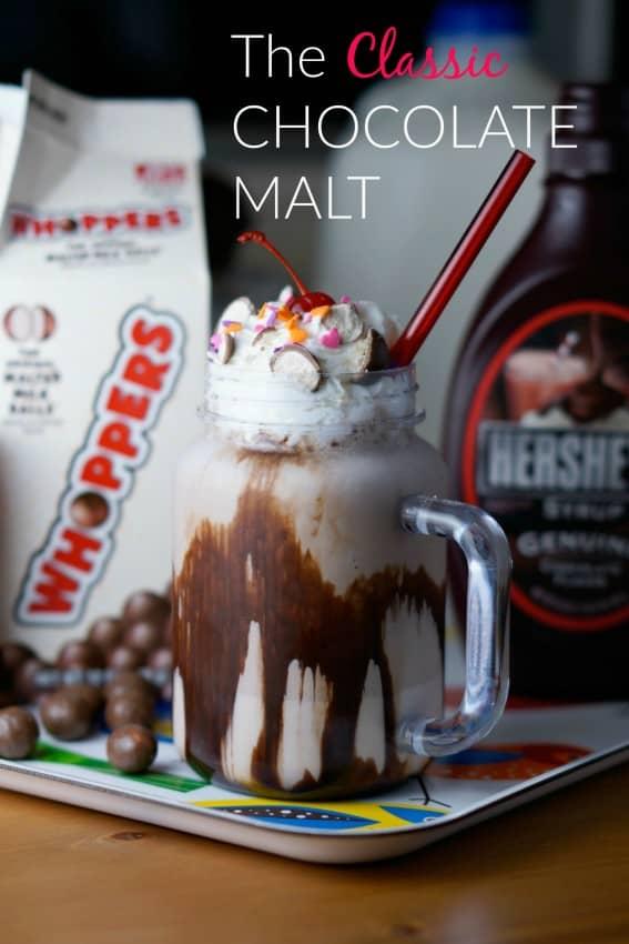 The Classic Chocolate Malt