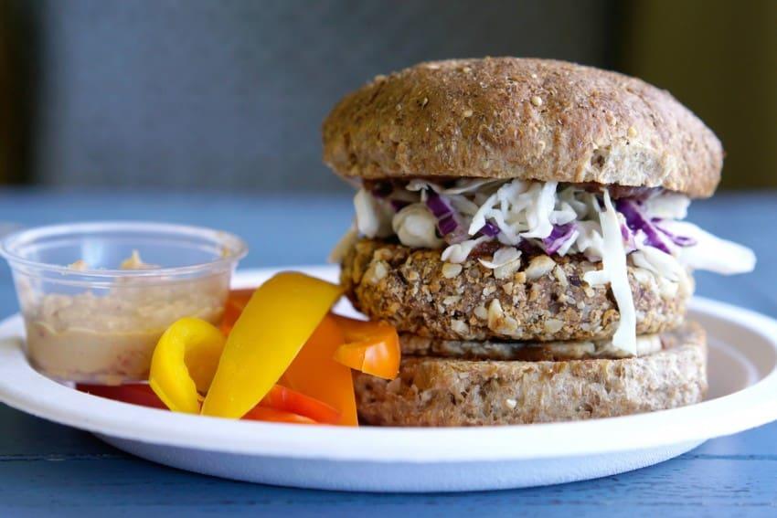 Hillbilly Vegan Burger