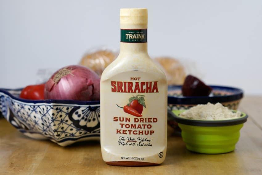Sriracha Sun Dried Tomato Ketchup