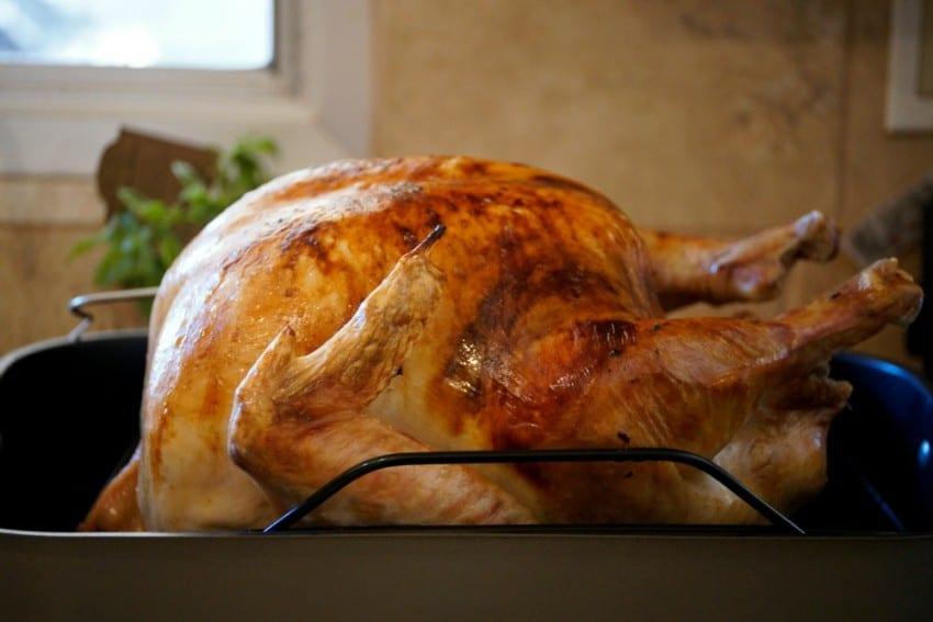 maple basted turkey