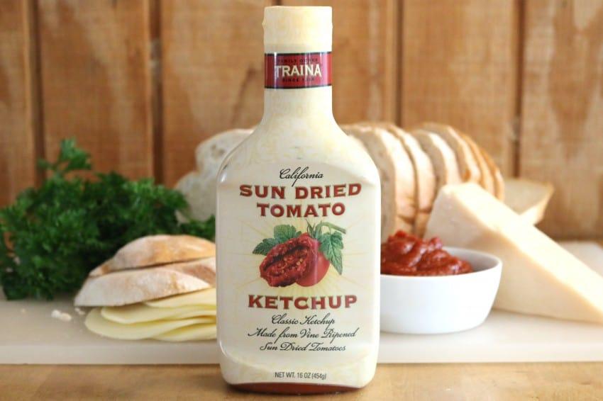 Traina Sun Dried Tomato Ketchup