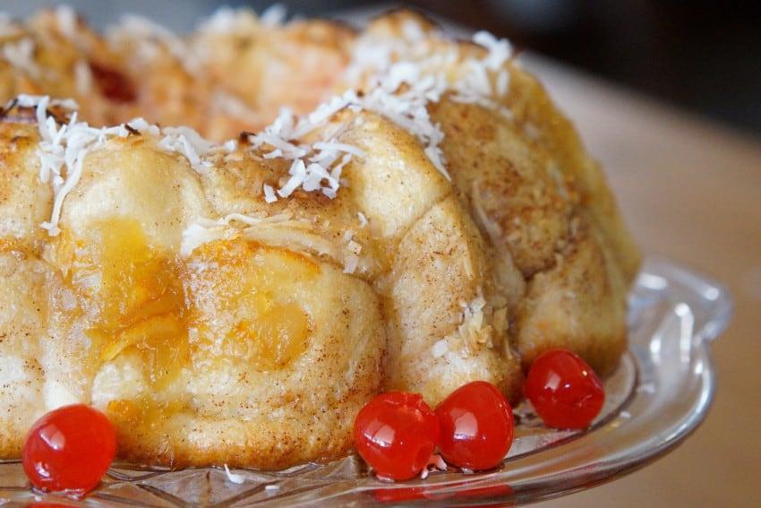 Pineapple Upside Down Monkey Bread https://joaniesimon.com