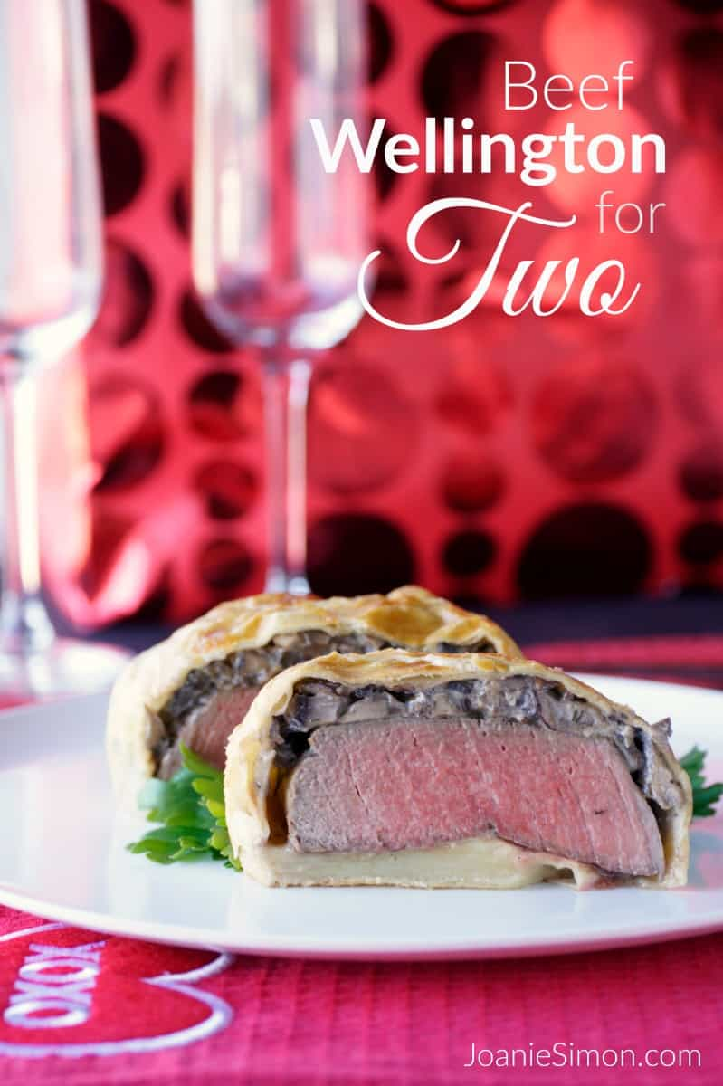 Beef Wellington for Two - a romantic dinner at home