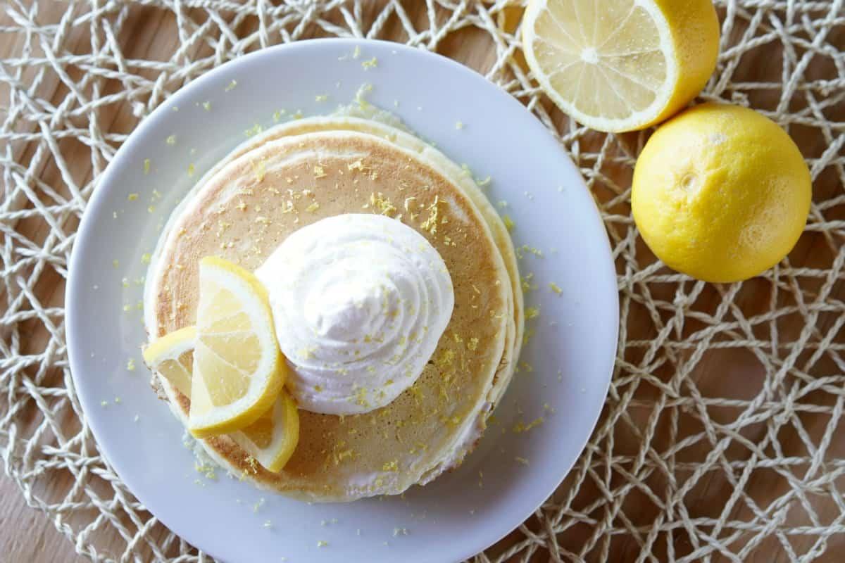 Lemon Creme Pancakes Recipe