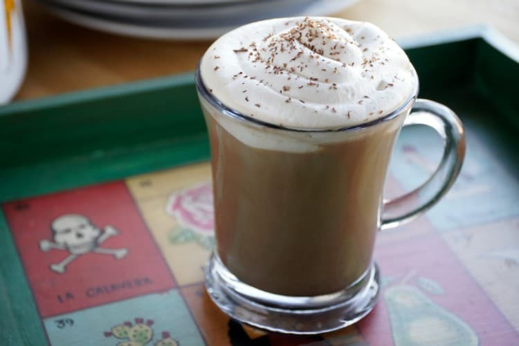 how to make mocha coffee at home without machine