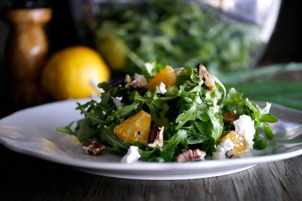 Arugula Goat Cheese Citrus Salad