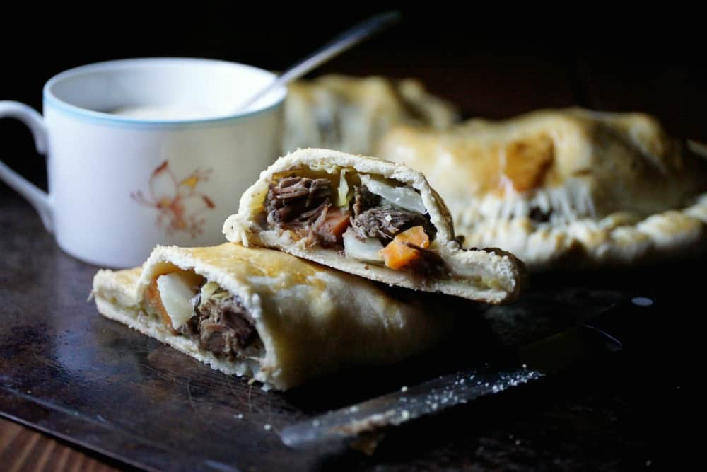 Corned Beef and Cabbage Pasty