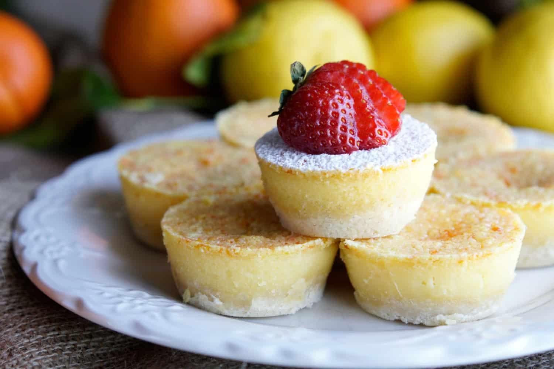 Easy Lemon Tarts Recipe