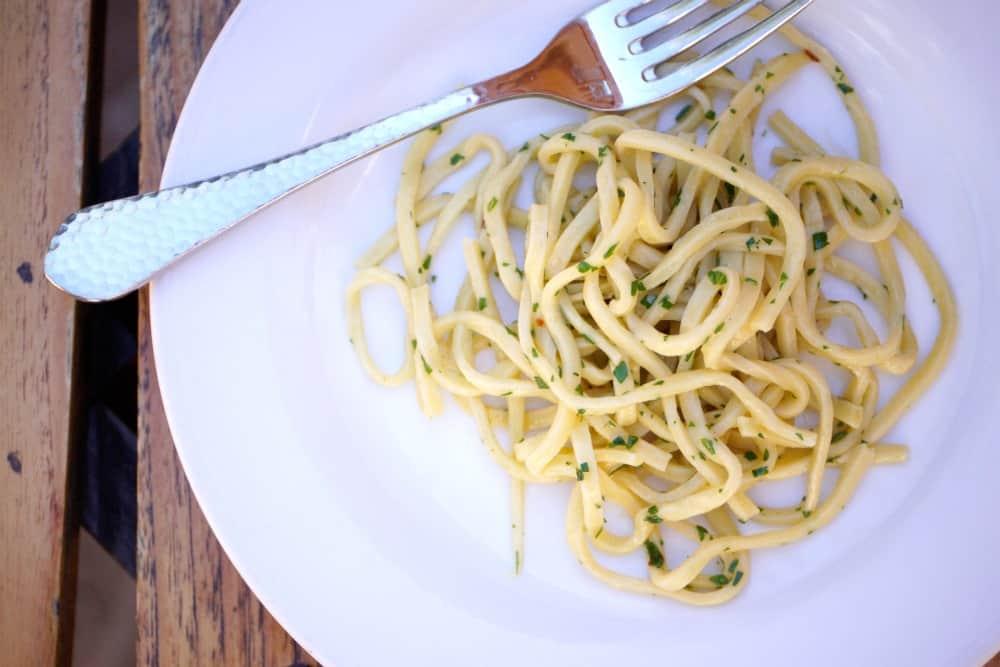 Spaghetti Agli Olio