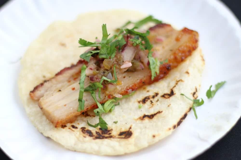 Otro Cafe Pork Belly Tacos