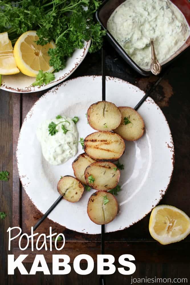 Lemon Garlic Potatoes-131