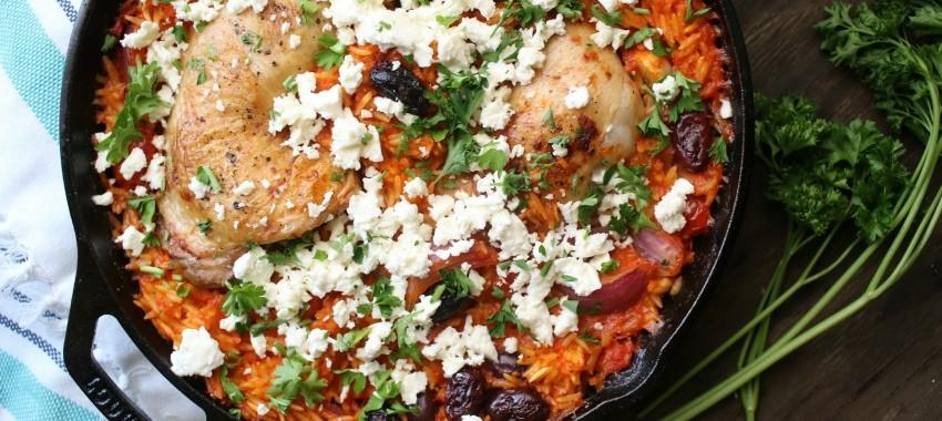 Chicken & Orzo Dinner Recipe