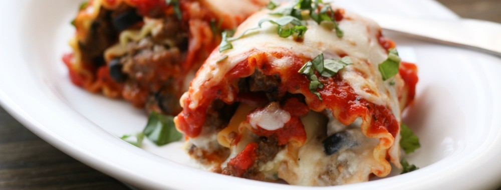 Rolled Pizza Lasagna