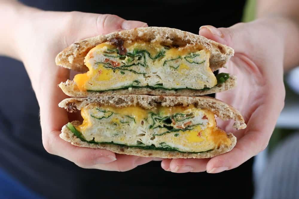 Microwave Egg Sandwich Dorm Room Recipe Part 60