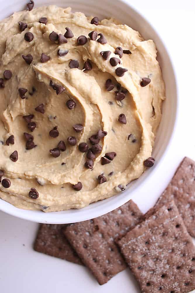 Chocolate Chip Cookie Dessert Hummus