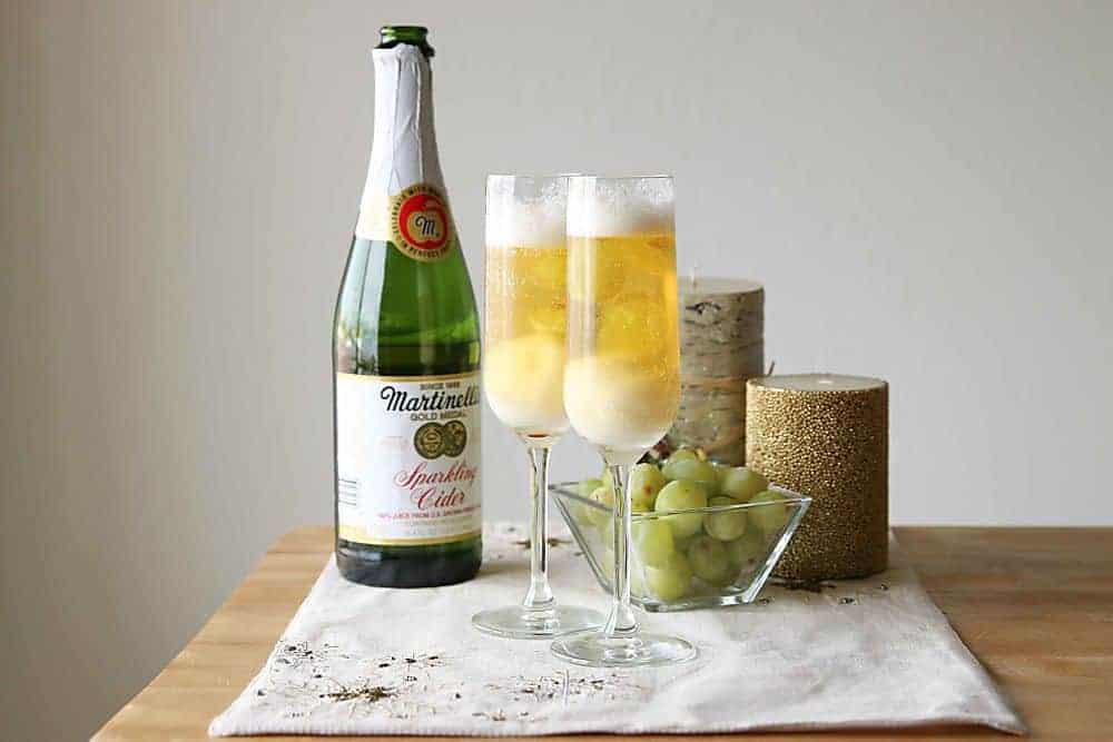Apple Cider Sparklers