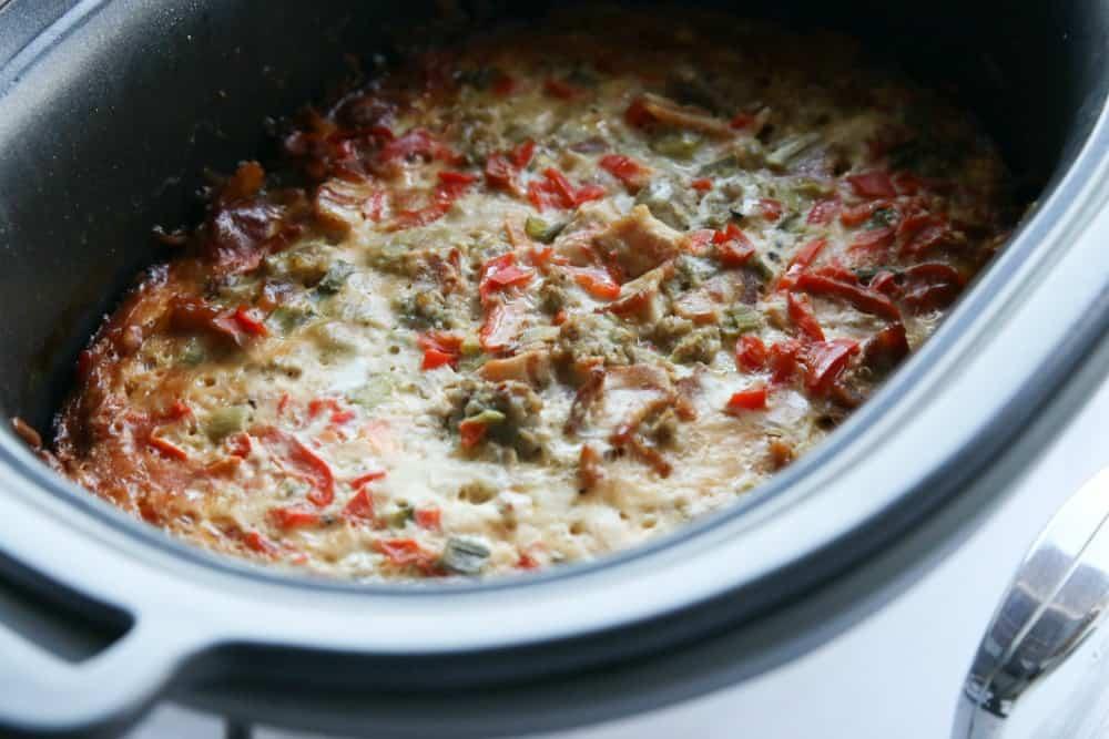 Southwest Overnight Breakfast Casserole