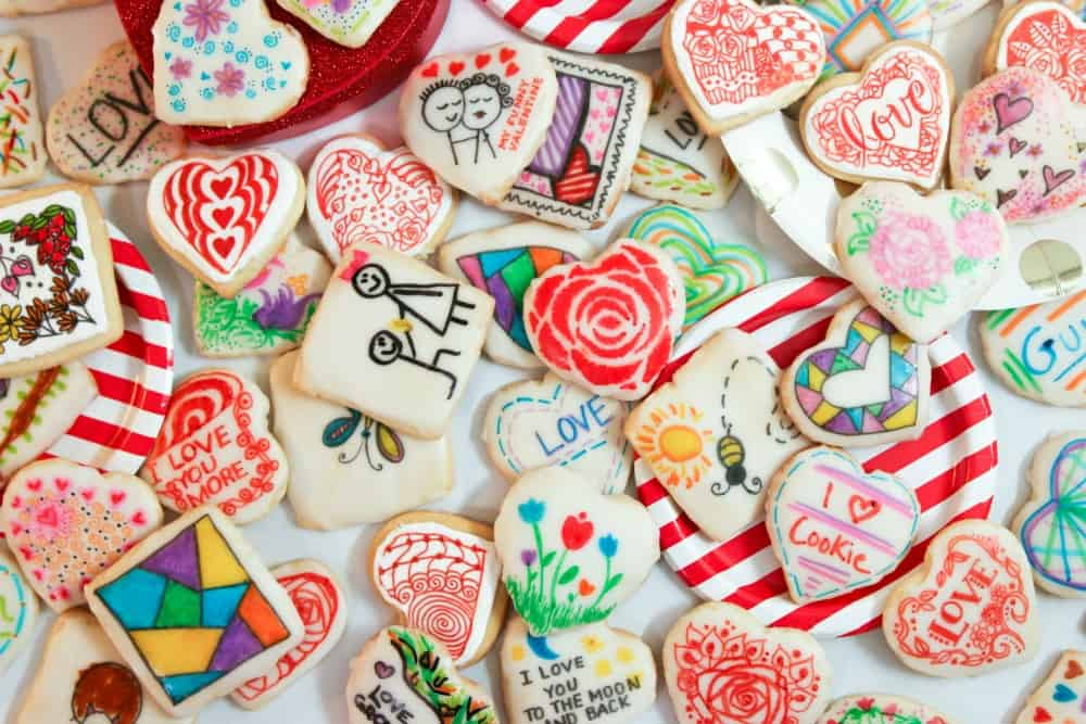Valentine S Day Sugar Cookies Joanie Simon