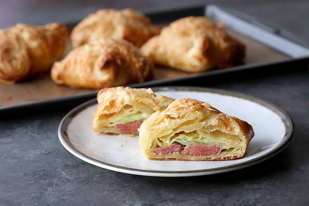 Corned Beef and Cabbage Pastry