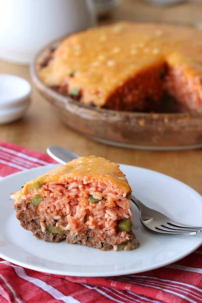 Meat Crust Pie