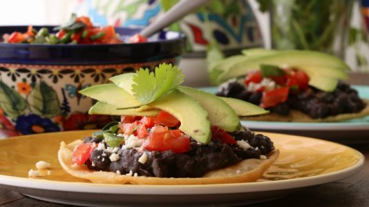 homemade tostadas