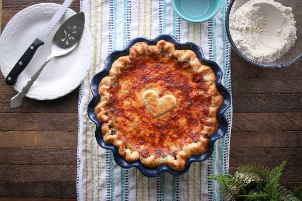 spinach fandango pie
