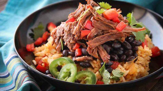Instant Pot Barbacoa Burrito Bowls