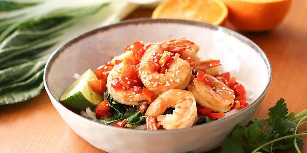 Easy Sesame Shrimp