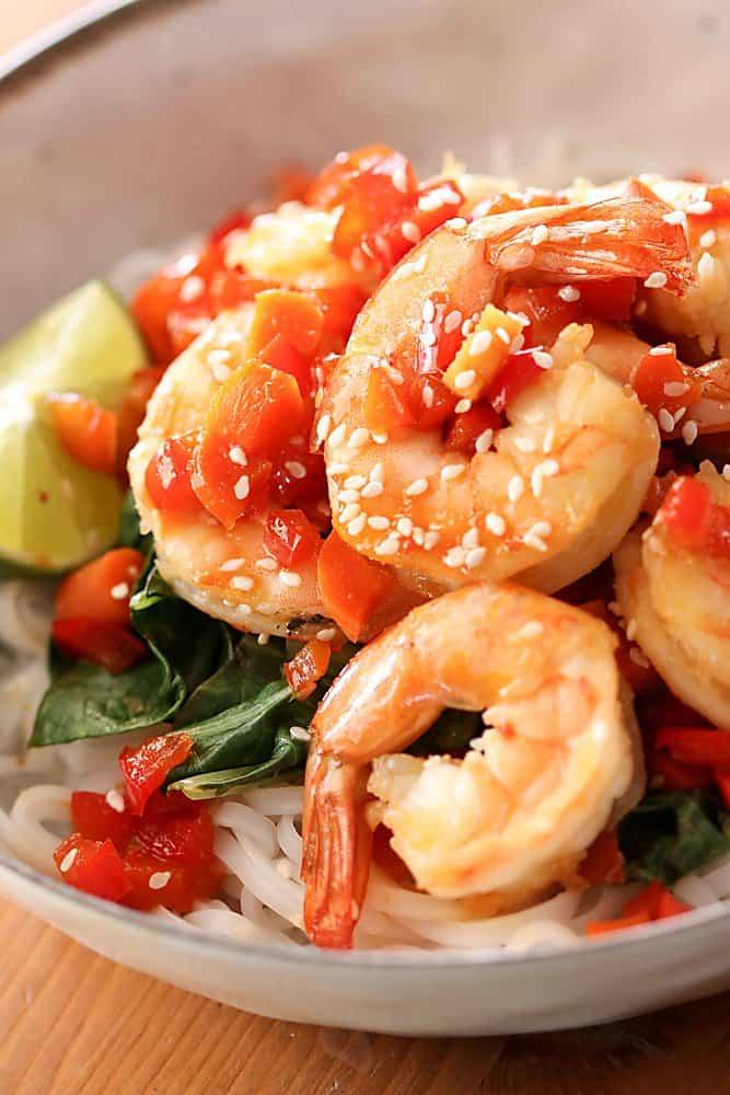 Easy Sesame Shrimp Joanie Simon