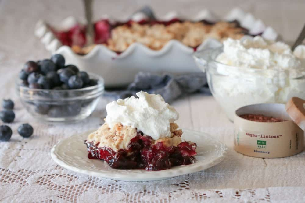 blueberry coffee cobbler - joanie simon 3