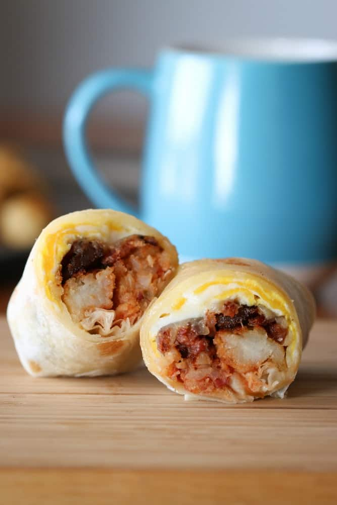 tater tot breakfast burrito