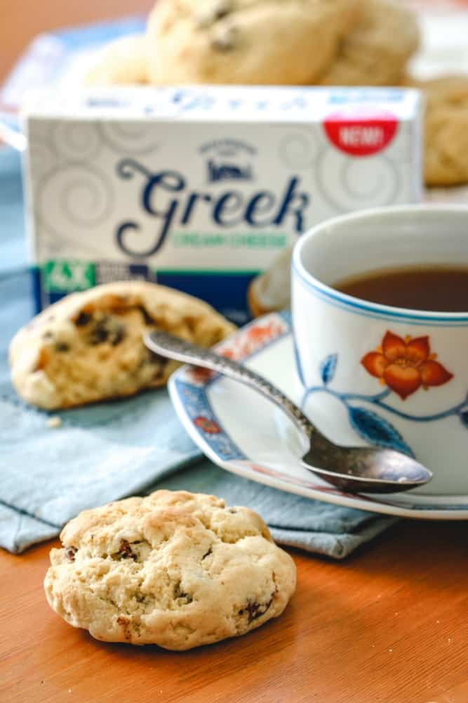Greek Cream Cheese Chocolate Chip Soft Batch Cookies