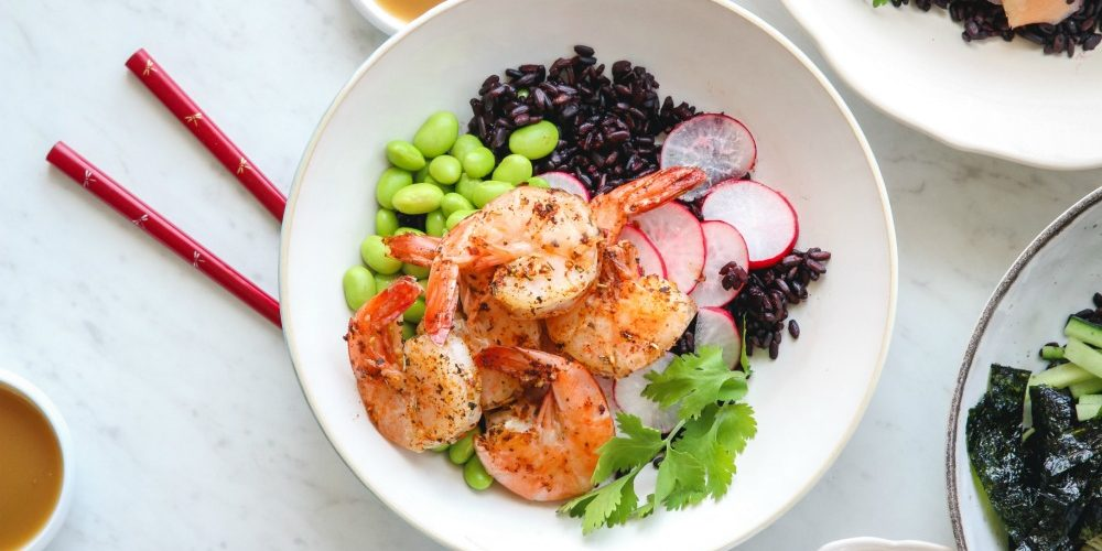 meal prep rice bowls spa