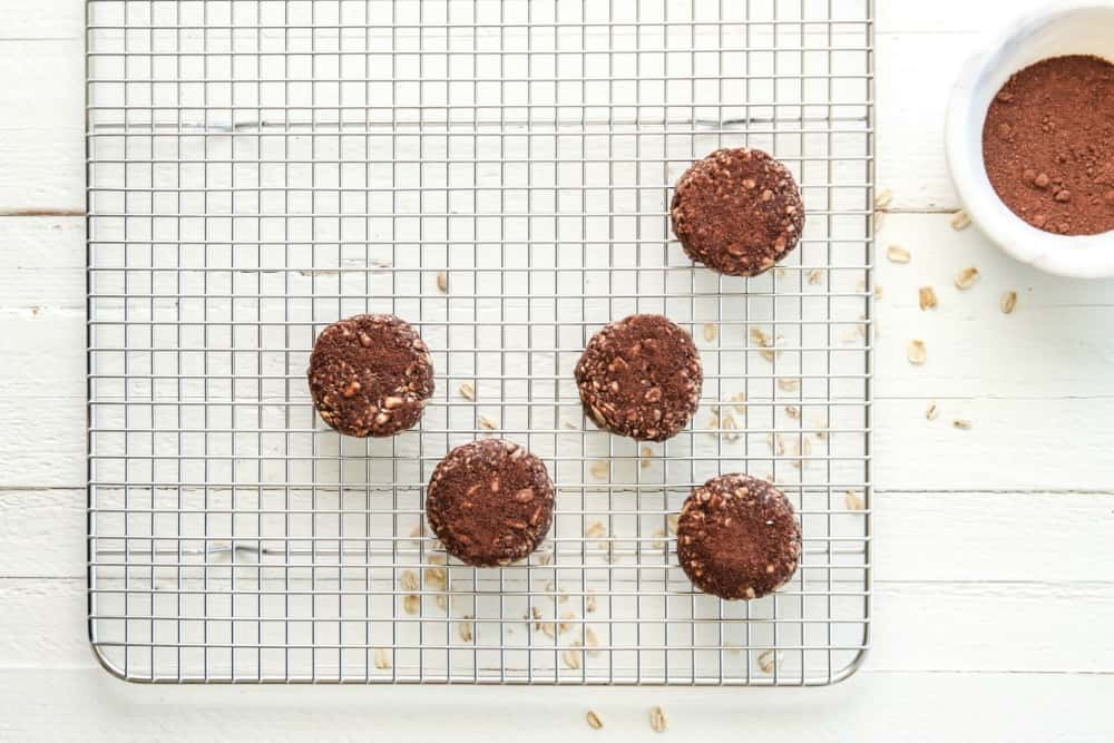 peanut butter cocoa no bake cookies