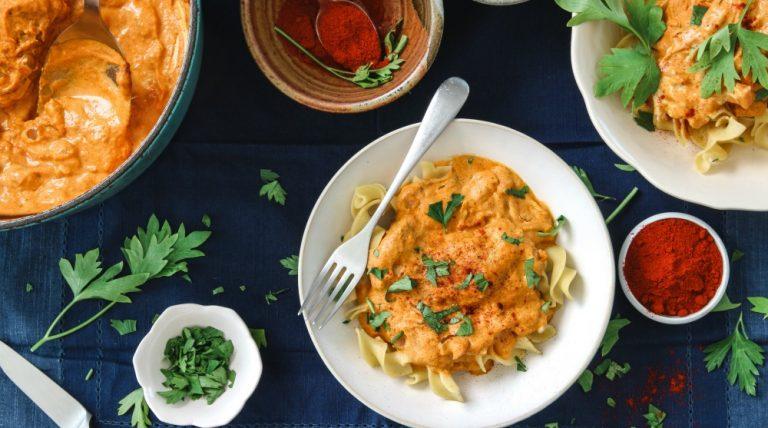 pumpkin chicken paprika