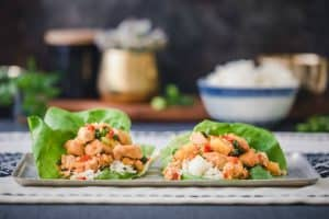 instant pot sweet and sour chicken - 1
