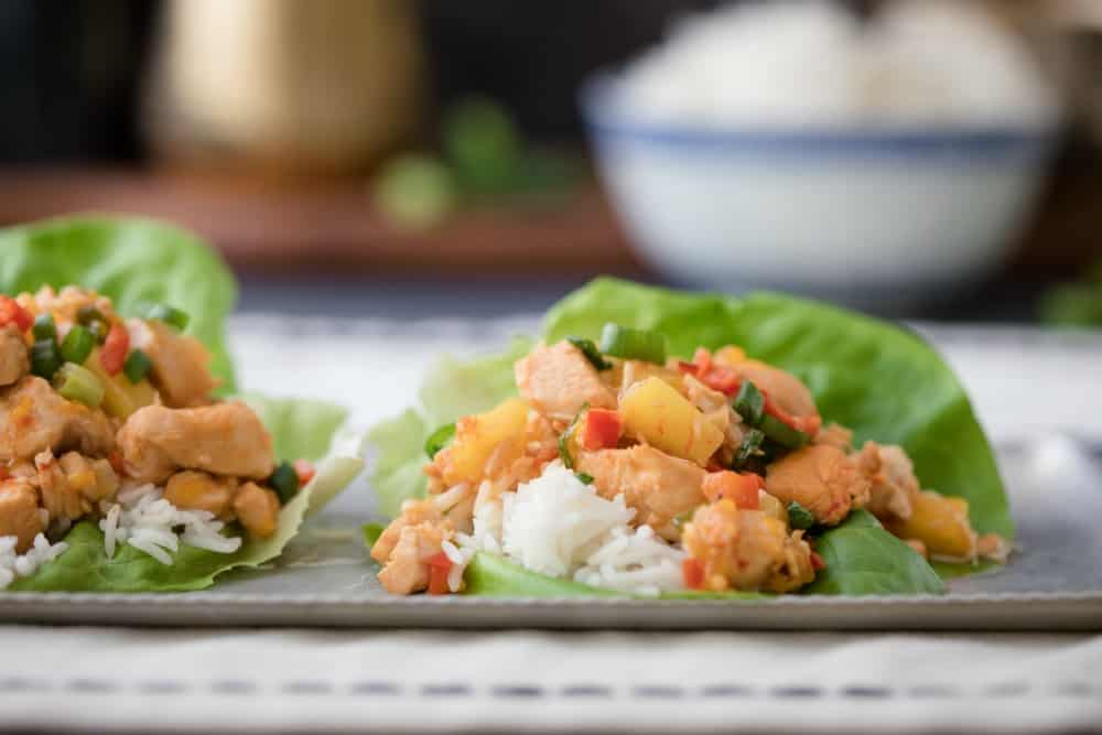 instant pot sweet and sour chicken - 2