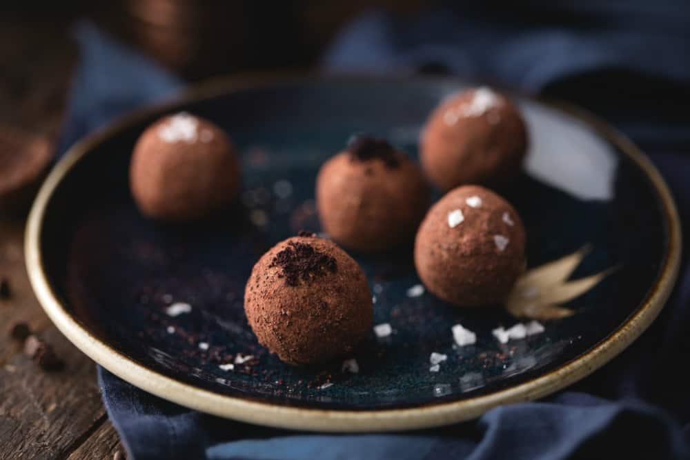 sugar free chocolate truffles