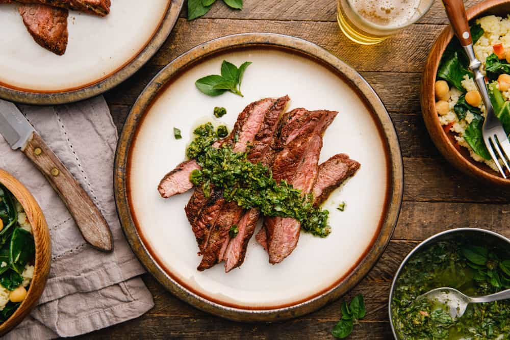 Grilled Flank Steak with All Purpose Rub