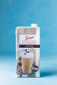 Bottle of Torani Frappe Mix