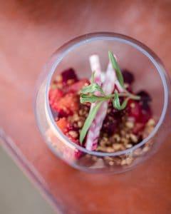 Bowl of fruit and veggies